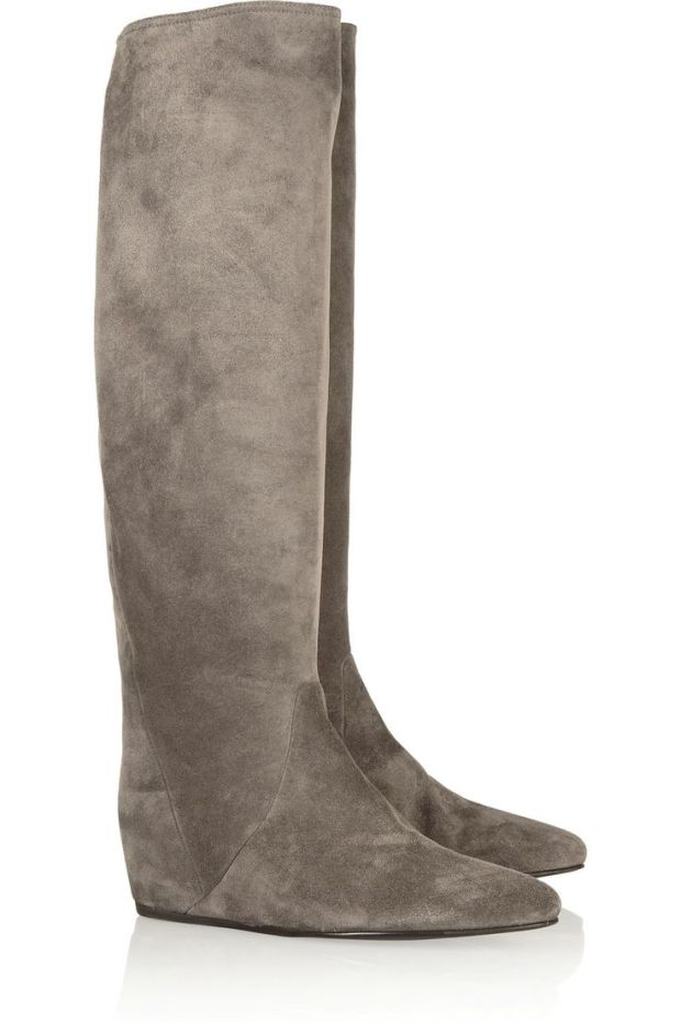 Lanvin - concealed wedge over the knee boot
