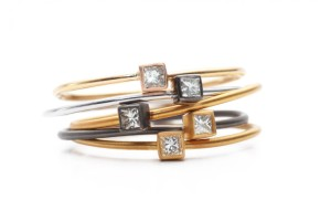 stackable-square-diamond-rings