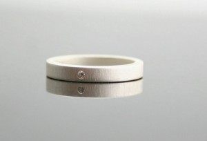 Sterling-Diamond-Ring-with-Matte-Finish-550x374